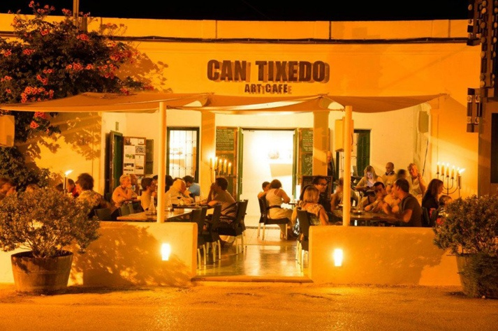 Can Tixedo art cafe, Ibiza